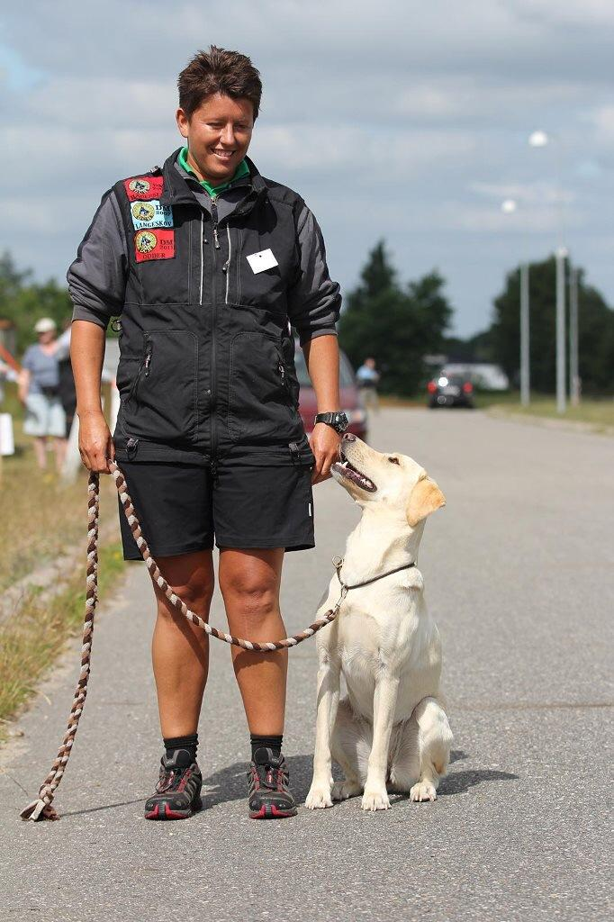 Ravensbank Hazel (Hazel) debuts at obedience competition with Ms. Malene Petersen ©Malene Petersen