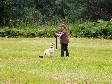 """<a href=""""/ajaxhund.php?hund=Ravensbank%20FT"""" data-toggle=""""modal"""" data-target=""""#myModal"""" data-remote=""""false"""" >DKRLCH Ravensbank FT (Pink)</a> og Anne Winkel har det sjovt på Retriever rally i juli 2013 <span id=""""copyright"""">©Anne Winkel</span>"""